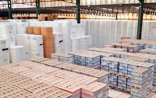 Instalaciones de IGL para el almacenaje de productos forestales.