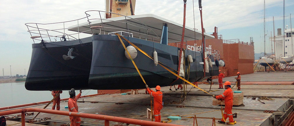 IGL se afianza en cargas especiales al transportar un catamarán de pasajeros desde España hasta el puerto mexicano de Veracruz