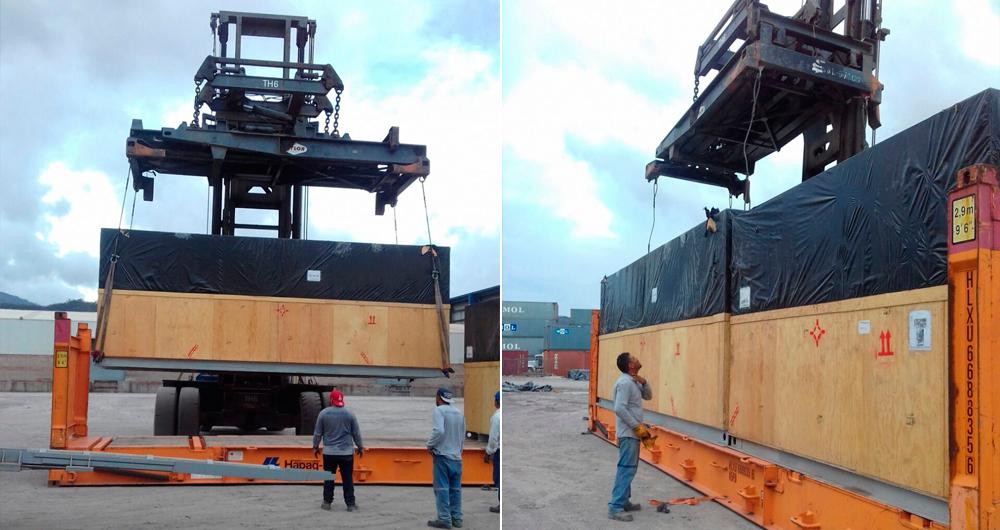 Transporte internacional. Project Cargo.