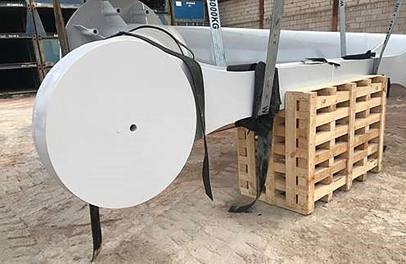 Grandes cargas industriales - Cuna de madera