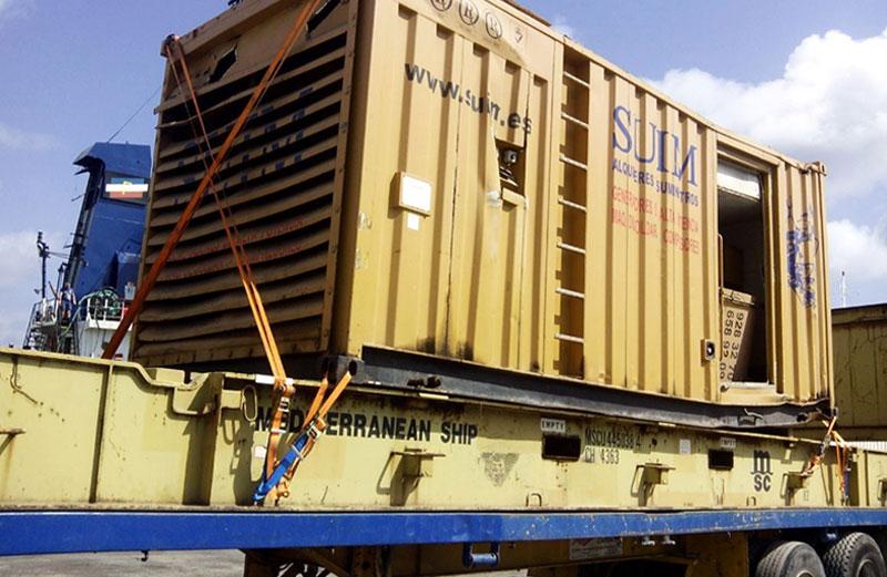 Grandes cargas industriales - Generador
