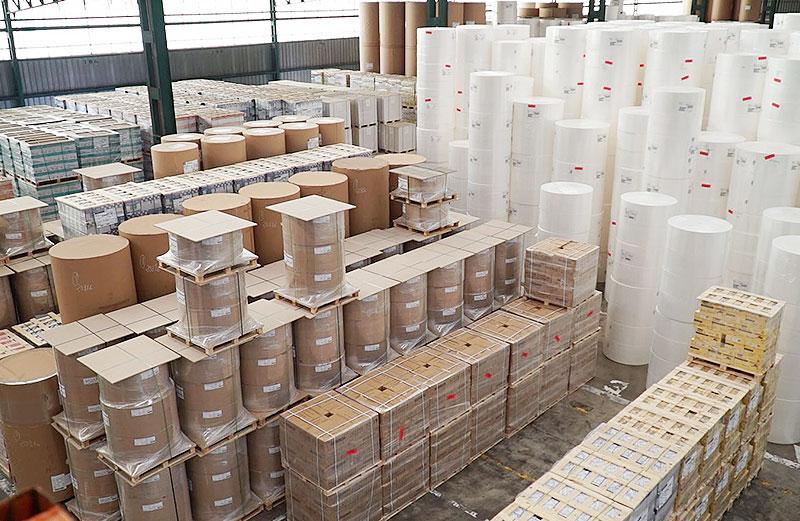 Almacenaje de productos forestales