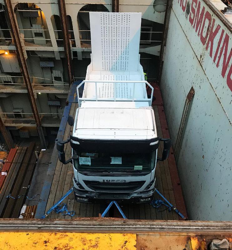 Grandes cargas industriales - Camión