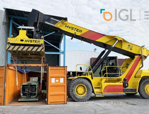 IGL, vuelve a dar ejemplo de trabajo en equipo, en una operación junto a otras seis empresas de Grupo Alonso